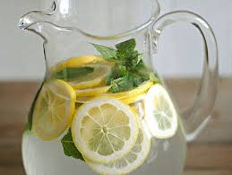 Benefits of Water Therapy and drinking lemon Water.