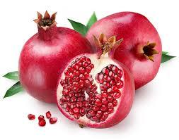 Pomegranate-nkoma mahanga, (mawanga)